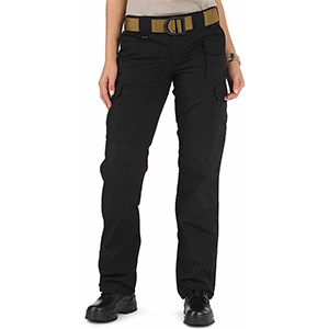 5.11 Women's Taclite Pro Tactical 7 Pocket Cargo Pant (Black)