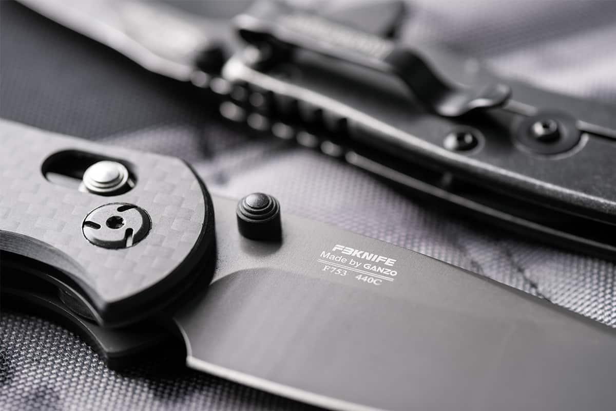 Close look at EDC Knife parts