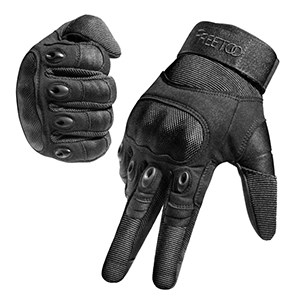 FREETOO Knuckle Tactical Gloves for Men Military Gloves