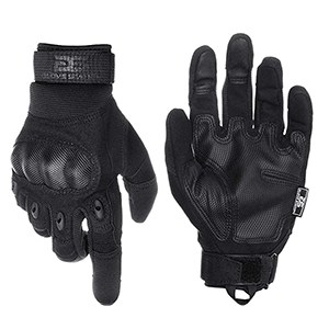 Glove Station Military Tactical Rubber Knuckle Gloves