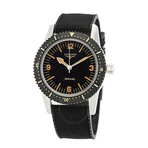 Longines Heritage Automatic Black Dial