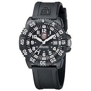 Luminox Men's 3051 EVO Navy SEAL Colormark Watch Black