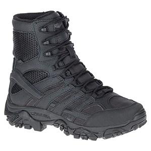 """Merrell Moab 2 Tactical Waterproof Side-Zip 8"""" Boot"""