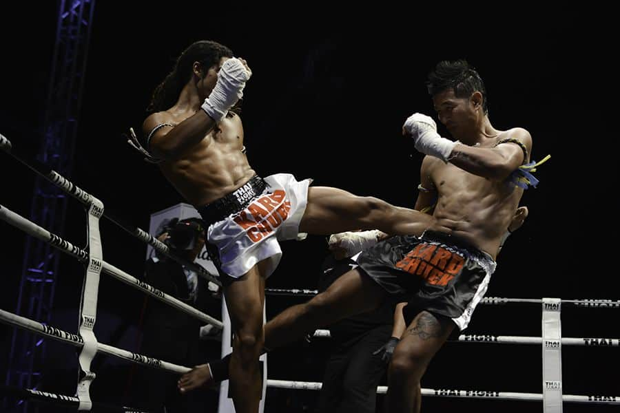 Sudsakorn Sor.Klinmee vs. Cody Moberly at King of Muay Thai