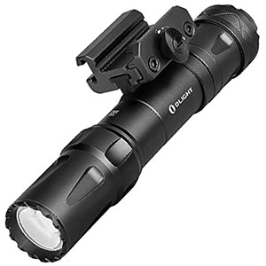 OLIGHT Odin 2000 Lumens Picatinny Rail Mounted Tactical Flashlight Black