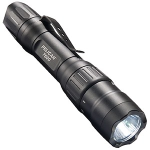 Pelican 7600 Rechargeable Tactical Flashlight Black