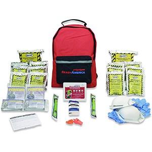 Ready America Basic Emergency Kit, Includes First Aid Kit, Survival Blanket, Portable Preparedness Go-Bag