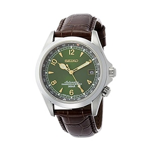 Seiko SARB017 Alpinist with Leather Calfskin Strap, Brown