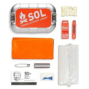 S.O.L. Traverse Tin Survival Kit for Outdoors