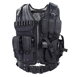 YAKEDA Outdoor Combat Training Vest (Black)